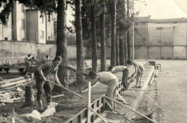 Costruzione Gradinate 1975 Oratorio di Gandino