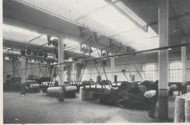Cotonificio Tosi-Albini (ora Tessival) anni '20 Fiorano al Serio