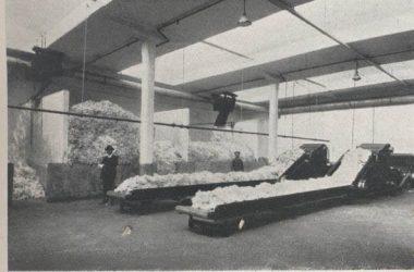 Cotonificio Tosi-Albini (ora Tessival) anni '20 Fiorano al Serio Bg