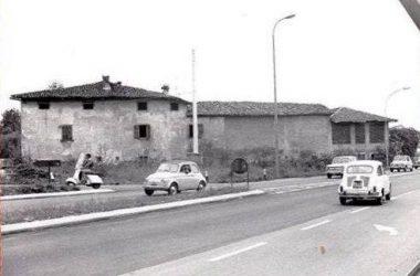 Crocette di Curno-Cascina Cà Nöa (anni 60) qui vista da Via Trento