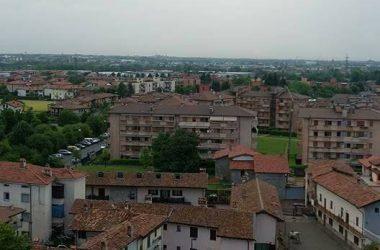 Curno Bergamo dal campanile