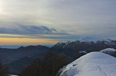 Dal monte I Canti sopra Fuipiano in val Imagna