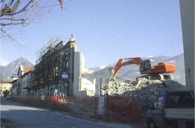 Demolizione Vecchio oratorio Gandino