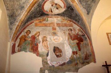 Dipinti Chiesetta di Rova - Gazzaniga