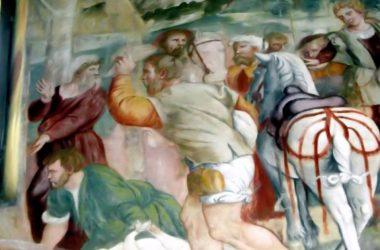 Dipinti Santuario della Madonna dell'Olmo Verdellino
