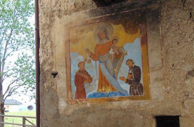 Dipinto Antico Borgo di Arnosto a Fuipiano