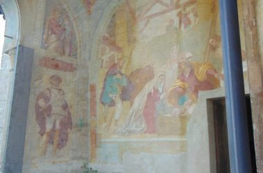 Dipinto Credaro (BG) Chiesa di S. Giorgio