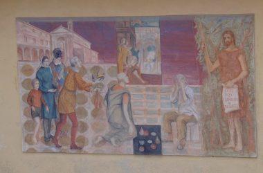 Dipinto Dossena -Bergamo- Tra il 1981 e il 1984