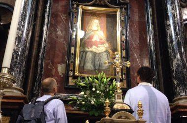 Dipinto della Madonna delle lacrime Treviglio