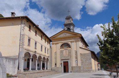 Dossena Bergamo chiesa parrocchiale