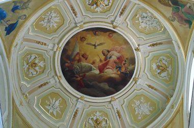 Dossena- Bergamo- chiesa parrocchiale, dedicata a San Giovanni Battista