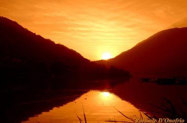 Endine Gaiano Tramonto sul lago