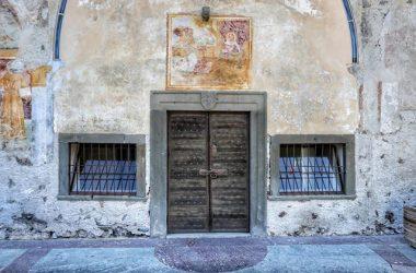 Entrata Cappella dell'Annunciata – Cerete