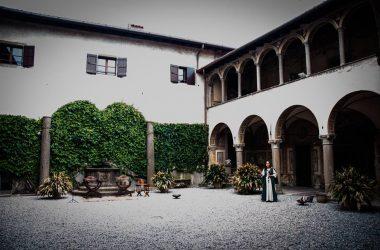 Esterno Castello di Valverde - Bergamo