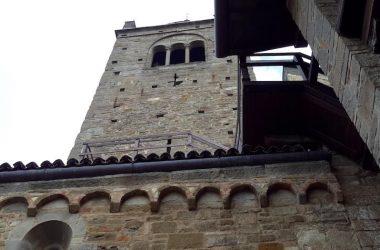 Facciata Abbazia rettoria di Sant'Egidio in Fontanella.