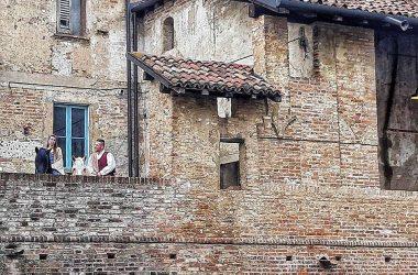 Facciata Castello di Pagazzano