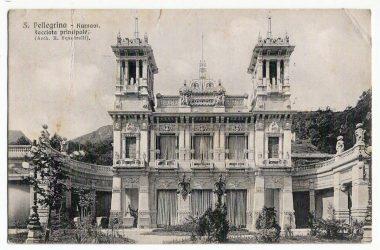 Facciata Kursaal San Pellegrino Terme nel 1909