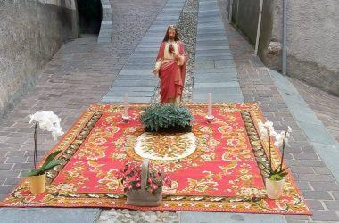 Festa Corpus Domini Gandino bg