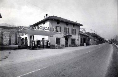 Fiat Messina negli anni cinquanta tra Fiorano e Semonte , sul vecchio provinciale