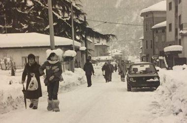Fiorano al Serio con la neve