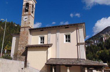 Foppolo -Valbrembana- Bergamo la chiesa parrocchiale