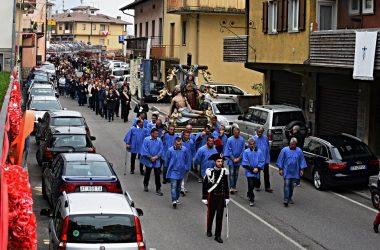 Foto Processione della Madonna Addolorata di Dossena