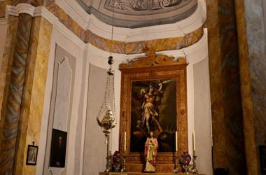 Foto interno Chiesa di san Rocco Albino