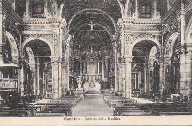 Foto storica Basilica Gandino
