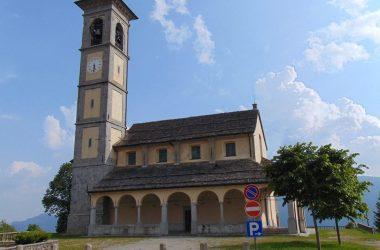 Fuipiano Valle Imagna Bg chiesa parrocchiale di San Giovanni Battista