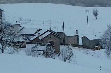 Fuipiano valle Imagna con la neve