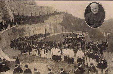 Funerale con cavalli Gazzaniga