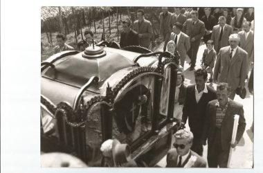 Funerale storico Foresto Sparso