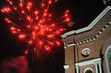 Fuochi artificiali Festa di San Donato Terno d'Isola