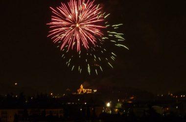 Fuochi d'artificio Chiesa di Comonte - Seriate