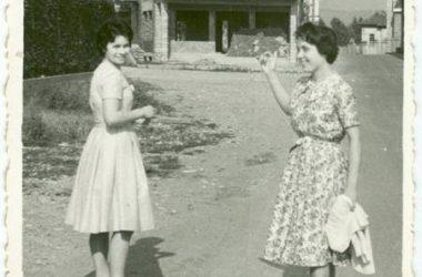 GORLE Via Mazza nel 1957