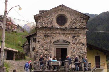 Gandellino chiesa di San Giovanni Battista a Tezzi Alti