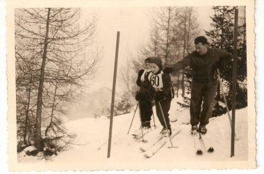 Gara di sci dal monte purito Selvino