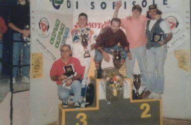 Gara di scooter cross sorisole 1997