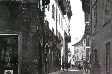 Gazzaniga Anni 50, via Manzoni.