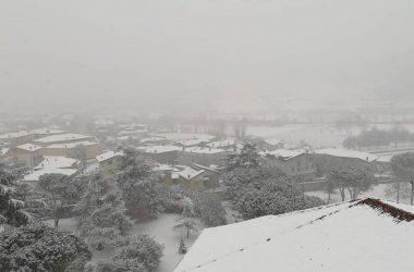 Gorlago con la neve