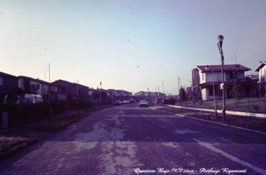 Gorle IL QUARTIERE BAJO in una foto del 1978