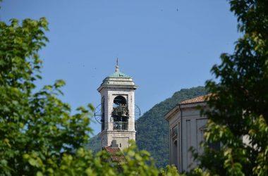 Il campanile della Plebana Nembro