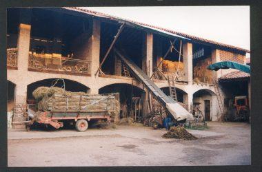 Il cortile Fenili Facchetti negli anni 1980 Orio al Serio