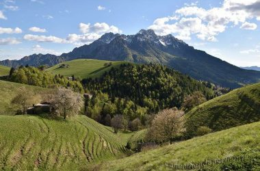 Il monte alben da Oltre il Colle