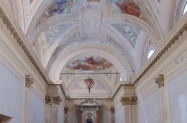 Il santuario di S. Bartolomeo XIII, antica parrocchiale di Vedeseta