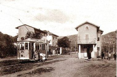 Il vecchio tram di Negrone Scanzorosciate