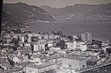 Imagini vecchie dall'alto di Sarnico