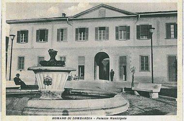 Immagine Storica municipio Romano di Lombardia