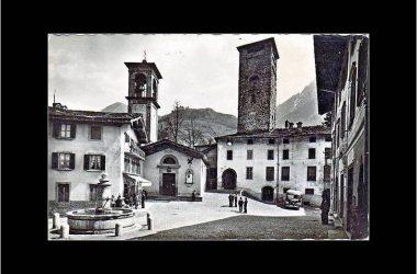 Immagine storica Piazza Dante Gromo