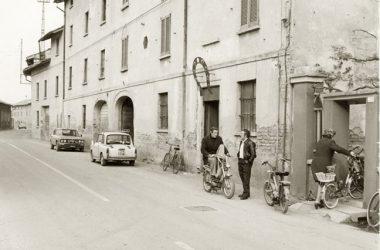 Immagine storica paese Caravaggio